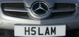 H5LAM ASLAM HASLAM SLAM..Unique & Rare Cherished Plate