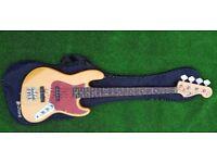 Chord Bass Guitar as new, new Chord guitar bag.