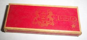 vintage Durham Duplex Double Edge Razor new blades sealed box
