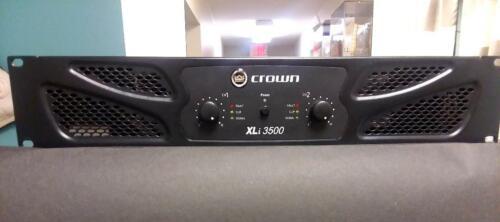 Crown XLi 3500 2-Channel 1350W Power Amplifier