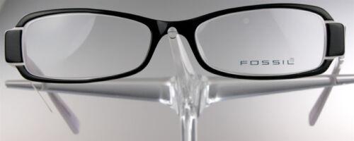 FOSSIL OF 2043 Brille Brillengestell Rosa Schwarz Damen Kunststoff Händler NEU..
