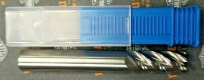 12 Long High Performance .090 Radius Carbide End Mill 5 Flute Endmill Usa Made