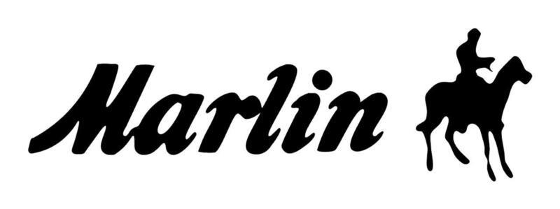 MARLIN FIREARMS 3X9 RIFLE GUN HORSE COWBOY VINYL CAR TRUCK WINDOW DECAL STICKER