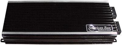 American Bass Ph4000md 4000W Max Class D Amplifier Phantom Micro Technology