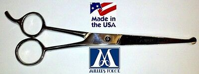 Safety Tip - MILLERS FORGE BLUNT/SAFETY TIP STRAIGHT SHEARS Scissor 7.25