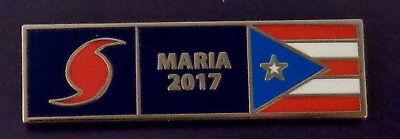 Hurricane Maria 2017 Puerto Rican Pr Rico Uniform Award Commendation Bar Pin