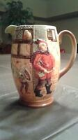"Old ""Merry Wives of Windsor"" / Falstaff - Beswick China Pitcher"