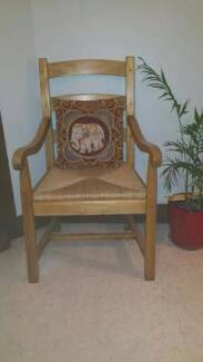 Solid Timber Carver Chair Mosman Mosman Area Preview