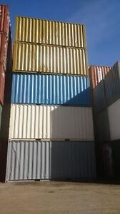 NO RUST, FRESHLY PAINTED 20' SHIPPING CONTAINERS