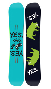 YES SNOWBOARDS GREATS UNINC 152CM