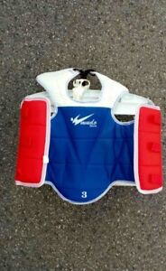 Taekwondo or kick boxing sparring gear and duffle bag  mint cond