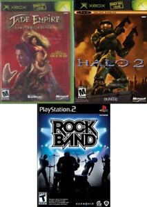Original XBOX and PS2 games -