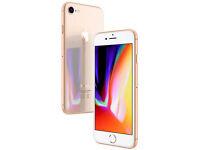 Apple iPhone 8 64GB (Factory Unlocked) Gold MQ6J2B/A *New & Sealed*