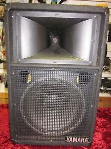 Yamaha 12 inch, Club Series Speakers for sale