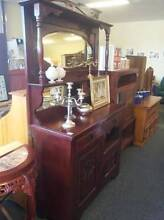 Antique Oak Chiffonier Fyshwick South Canberra Preview