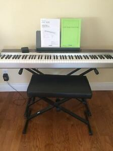 88 Key Casio Privia PX 120 Keyboard and Stand