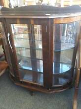 Antique Glass Cabinet Fyshwick South Canberra Preview