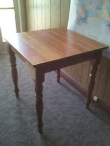 Small blackwood table