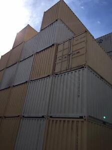 Lots of 20' 1 Trip Shipping / Storage Containers for Sale