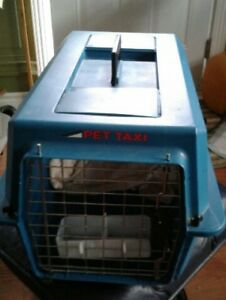 Cat or Small Dog Carrier & Litter Box