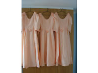 3 matching Bridesmaid Dresses for sale