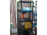 Shelving unit plastic 5 shelves