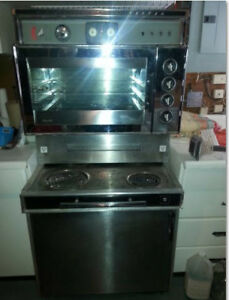 Retro Stainless Steel Stove - BEST OFFER