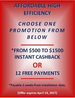 CASH BACK OR FIRST YEAR PAYMENTS ON US (LIMITED TIME OFFER)