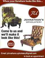 Johnathan's Upholstery and Reupholstery Service
