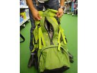 Women's Green Quechua Forclaz 70 + 10 L Symbium 4 Rucksack / Backpack