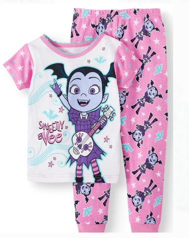 NEW Disney Junior Vampirina 2 Pieces Toddler/Girls Pajamas 3