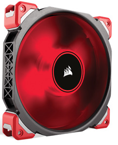 Corsair ML140 Red LED PWM Case Fan 140mm