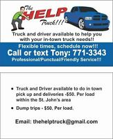 Truck and Driver for Hire!!!