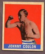 1948 Leaf Boxing Cards