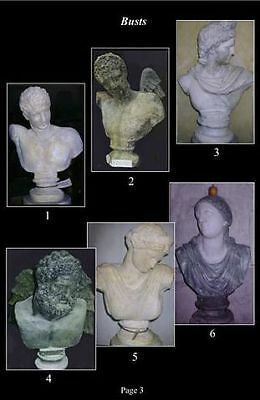 Catalogue Roman  Stone Busts  Available upon request see catalogue for info