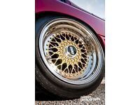 Bbs rs spares dish and barrels to fit all makes audi,BMW,merc,Porsche etc
