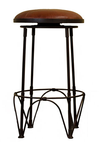 Button Top Bar Stools