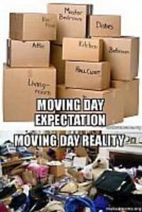 MOVING AND PACKING SUPPLIES - MAKES MOVING EASY!