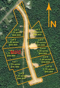Piece of paradise building lot # 7 Domaine DesJardins Estates