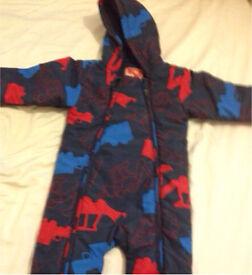 Baby all in one winter suit/ coat