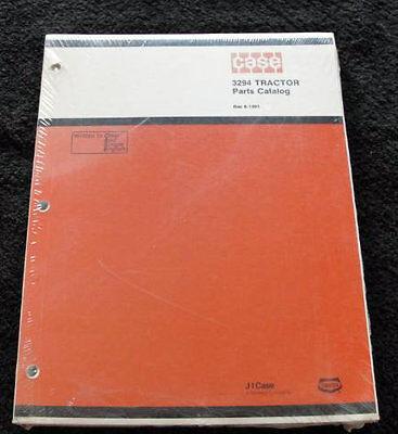 Original 1984 Case David Brown 3294 Tractor Parts Catalog Mint Sealed