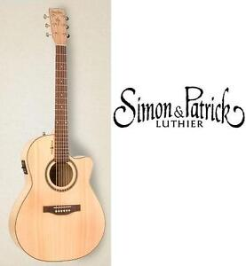 NEW S AND P AMBER TRAIL GUITAR SIMON AND PATRICK AMBER TRAIL ACOUSTIC-ELECTRIC GUITAR - MUSIC INSTRUMENT 106924530