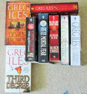 Greg ILES == Paperback Collection