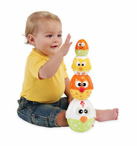Brand New Toys Perfect for Easter! Stacking chIcks & Caterpillar