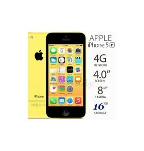 IPHONE 5C YELLOW COLOUR, NEW BATTERY NSTALLED