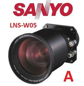 USED SANYO PROJECTOR ZOOM LENS - 106918061 - LNS-W05 Short throw zoom projector lens - A - TWO TERMINALS ATTACHED