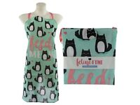Fun cat design poly cotton apron