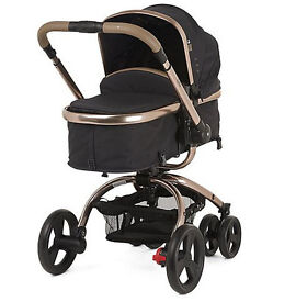 NEW WITHOUT BOX - NEVER USED - Mothercare Orb Pram and Pushchair - Liquorice Canvas -