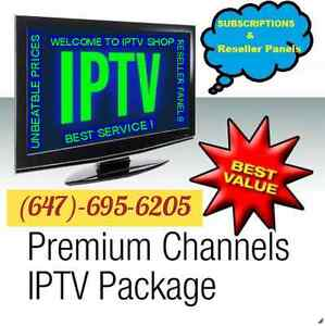 $$ IPTV SUBSCRIPTIONS & RESELLER PANEL FOR ALL SET TOP BOXES $$