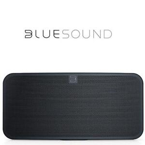 NEW BLUESOUND SMART SPEAKER Pulse 2 Black 180915681 BLUETOOTH MULTI ROOM BLACK